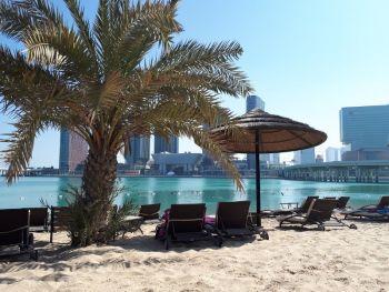 отель в Абу Даби с собственным пляжем