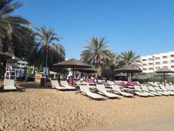 Пляж отеля LeMeridian AbuDabi 05
