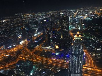 Вид со смотровой площадки башни Бурж Халива - что же посмотреть в ОАЭ в первую очередь