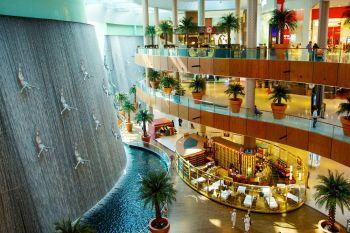 Дубай Молл фонтан