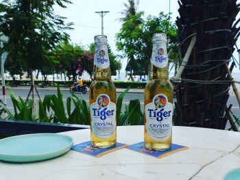 Пиво в ресторане QUI отеля Citadines