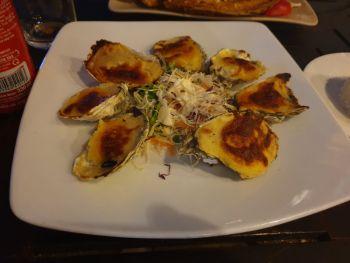 Устрицы в ресторане Tuan's - Еда в Нячанге